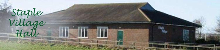 Staple Village Hall